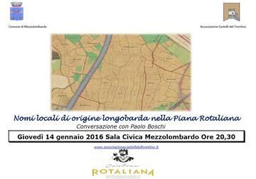 Nomi locali di origine longobarda nella piana rotaliana conferenza associazione castelli del for Nomi di locali famosi