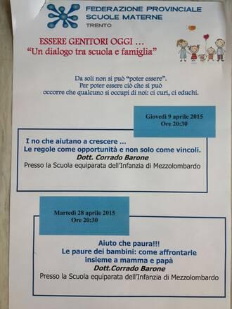 Calendario Bambini Scuola Infanzia.Le Paure Dei Bambini Comitato Scuola Dell Infanzia